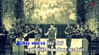 Karaoke Quê Hương Bỏ Lại - Đan Phương