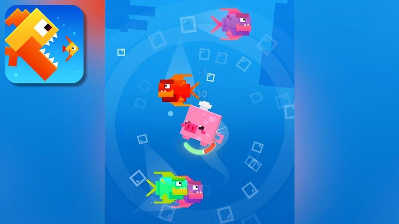 fishy bits 2 gameplay trailer ios youtube