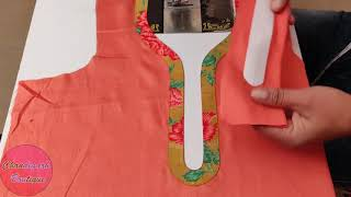 Trendy Neck Design // Latest Stylish Front Neck Design Cutting and Stitching