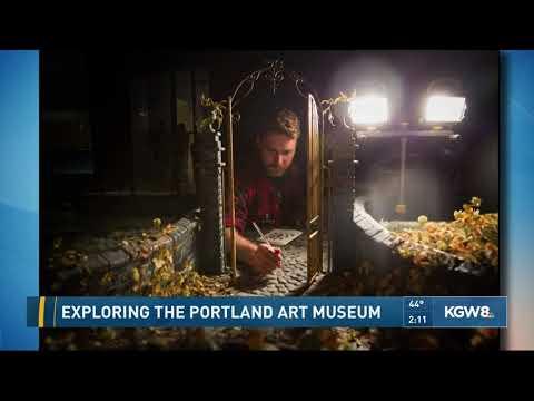 The Laika Studios exhibit at the Portland Art Museum