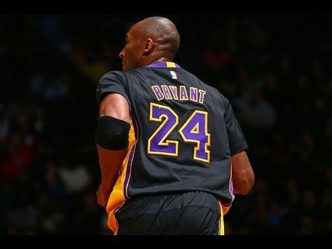 Kobe Bryant Career Highlights Compilation - The Gold Legend