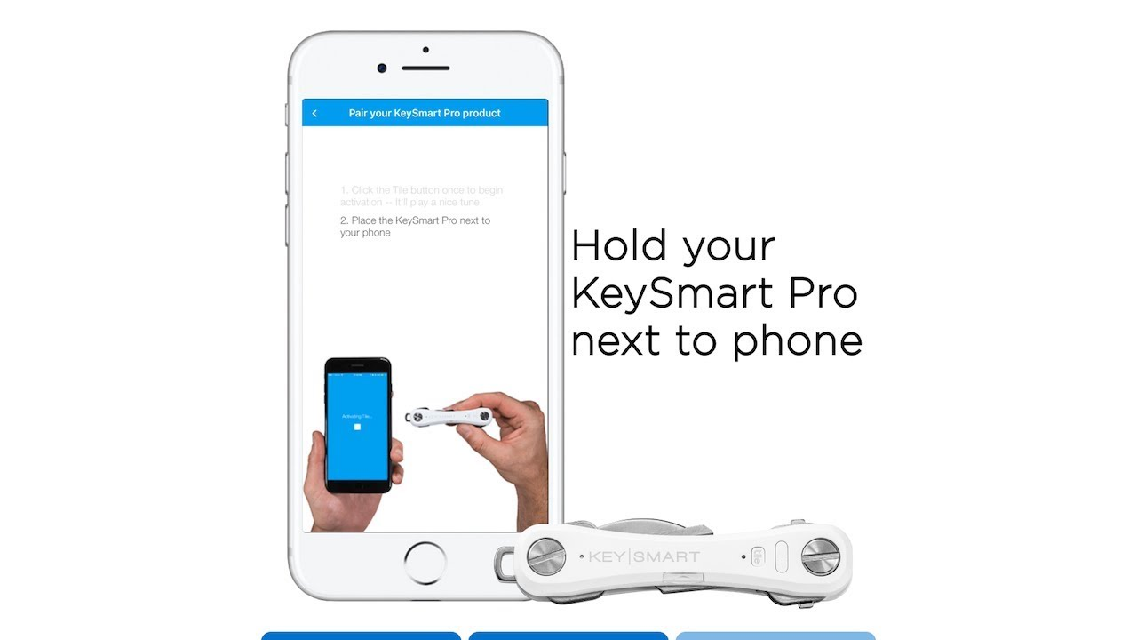 Connect Your Keysmart Pro To The Tile App Youtube