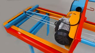 Make An Electric Lifter  Forklift With Height Up To 4 Yards   2 Functions In 1 Forklift