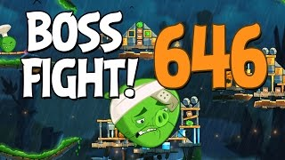 Angry Birds 2 Boss Fight 88! Chef Pig Level 646 Walkthrough - iOS, Android