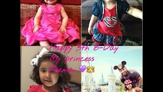 Happy 5th Birthday To My Princess Reema! (Video Edit)
