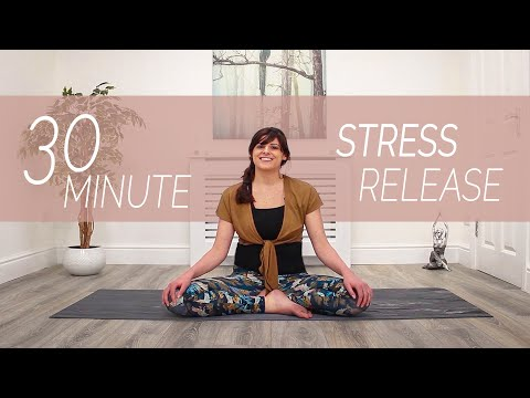 Yoga Practice For Stress Relief - 30 Minutes - Sacred Lotus Yoga