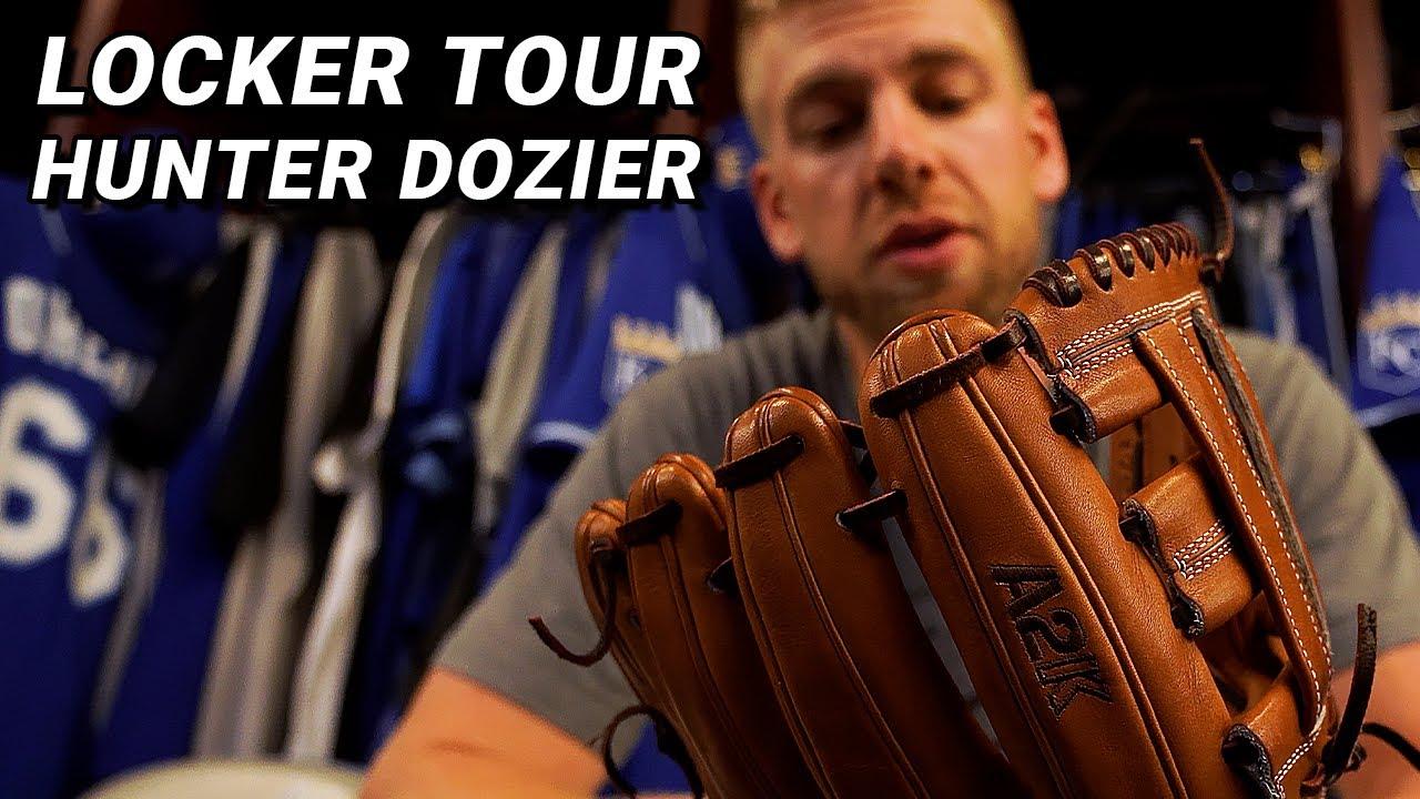 Locker Tour: Hunter Dozier, Kansas City Royals