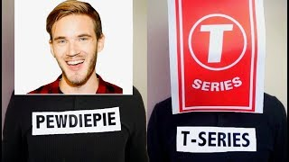 If PewDiePie And T-Series Had A Rap Battle..