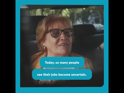 """#TheFutureIsYours: """"Today, so many people see their jobs become uncertain"""""""