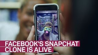 Facebook clones Snapchat again