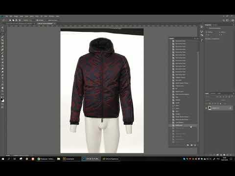 Как делать одежду симметричной в Photoshop