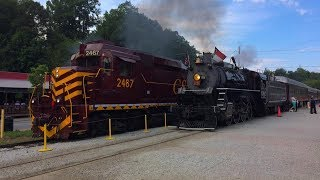 Memorial Day Weekend at the Great Smoky Mountains Railroad - May 27, 2017