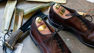 Cedar Shoe Trees, How To Avoid Creasing In Dress Shoes, And More - Q&A 14   Kirby Allison