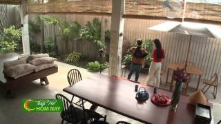 Nhà đẹp kết hợp truyền thống trong không gian hiện đại - Thành Phố Hôm Nay [HTV9 – 02.02.2015]