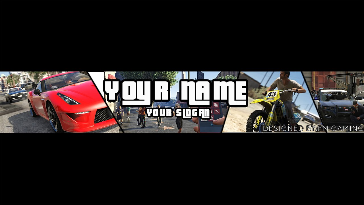 gta v channel art template youtube. Black Bedroom Furniture Sets. Home Design Ideas