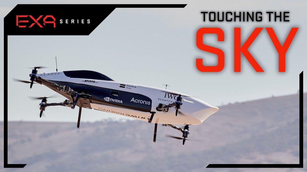 Electric Race Car Takes Flight   EXA Series   EXA Series