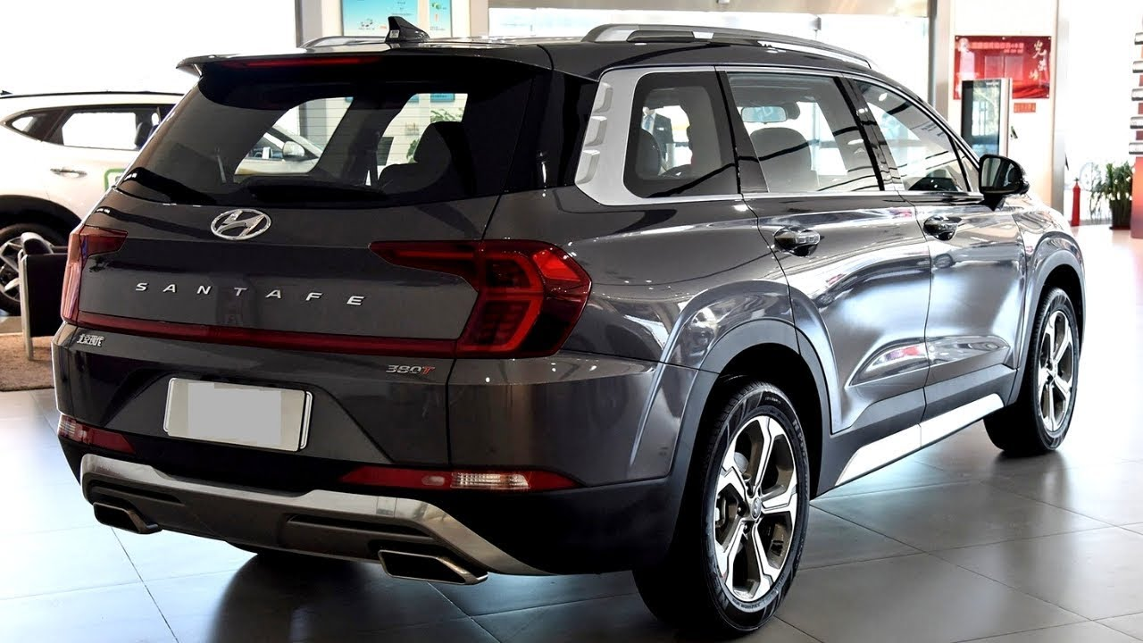 2019 Hyundai Santafe Exterior And Interior Awesome Suv