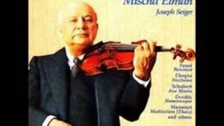 Mischa Elman plays Debussy