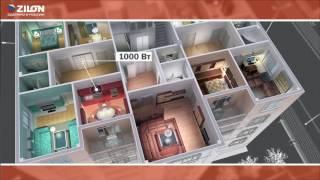 Видеообзор электрических конвекторов ZILON серии Комфорт