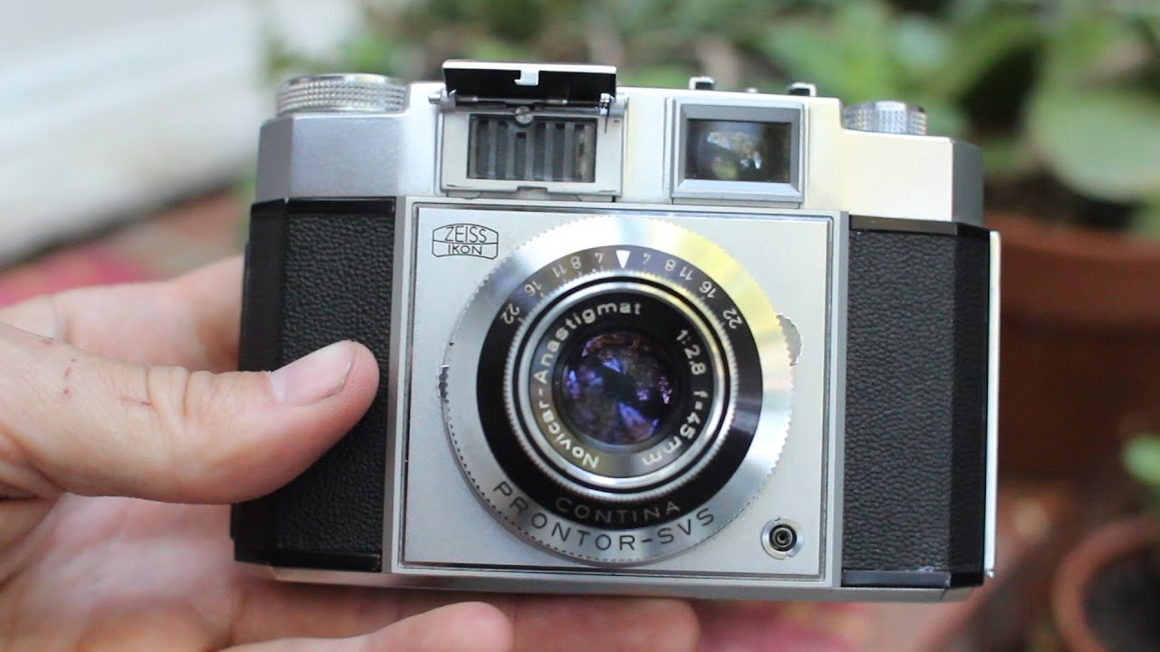 Zeiss Ikon Contina: Light Meter Basic Operation