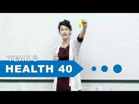 Year 2 Health, Lesson 40, Review Vitamins & Minerals