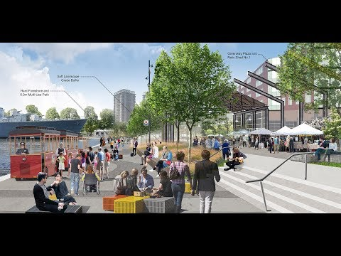 "Pier 8 Park Design Proposal 6:  ""A Place to Breathe"" by The MBTW Group"