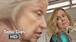 Captain Marvel (2019) - Old Lady Fight Scene Tamil [5/15] | Movieclips Tamil