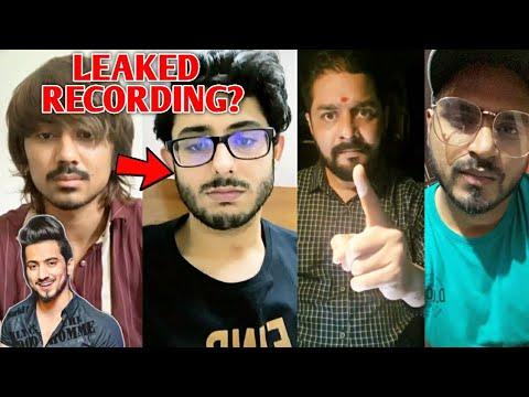 Adnaan 07 Call Recording LEAKED Against Carry? Mr Faisu| Hindustani Bhau, Amit Bhadana On Amir Audio