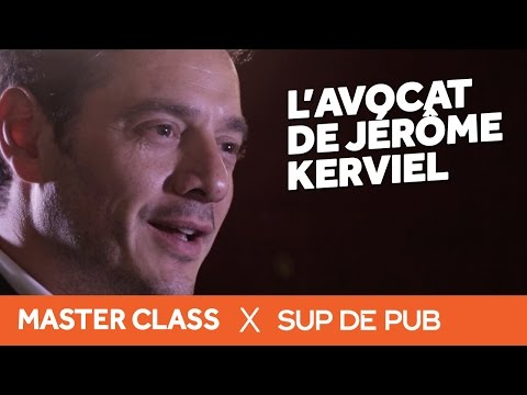 Interview David Koubbi : Avocat de Jérôme Kerviel (Master Class 2015 Sup de Pub)