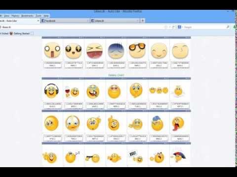 Writing New Font For Facebook Chat - And New Smileys - ابتسامات الايفون استخدمها من جهازك للفيسبوك
