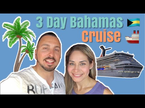 3 Day Bahamas Cruise From Miami | Carnival Cruise 🚢 🇧🇸