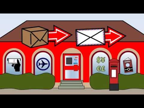 Sending Mail At A Post Office