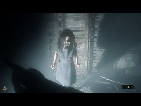 Resident Evil 7 Biohazard: Bossfight against Eveline