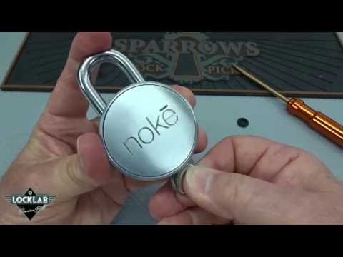 (869) Review: Nokē Bluetooth Padlock