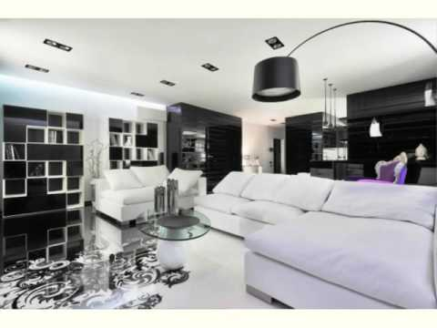 Purple Black And White Living Room Part 39