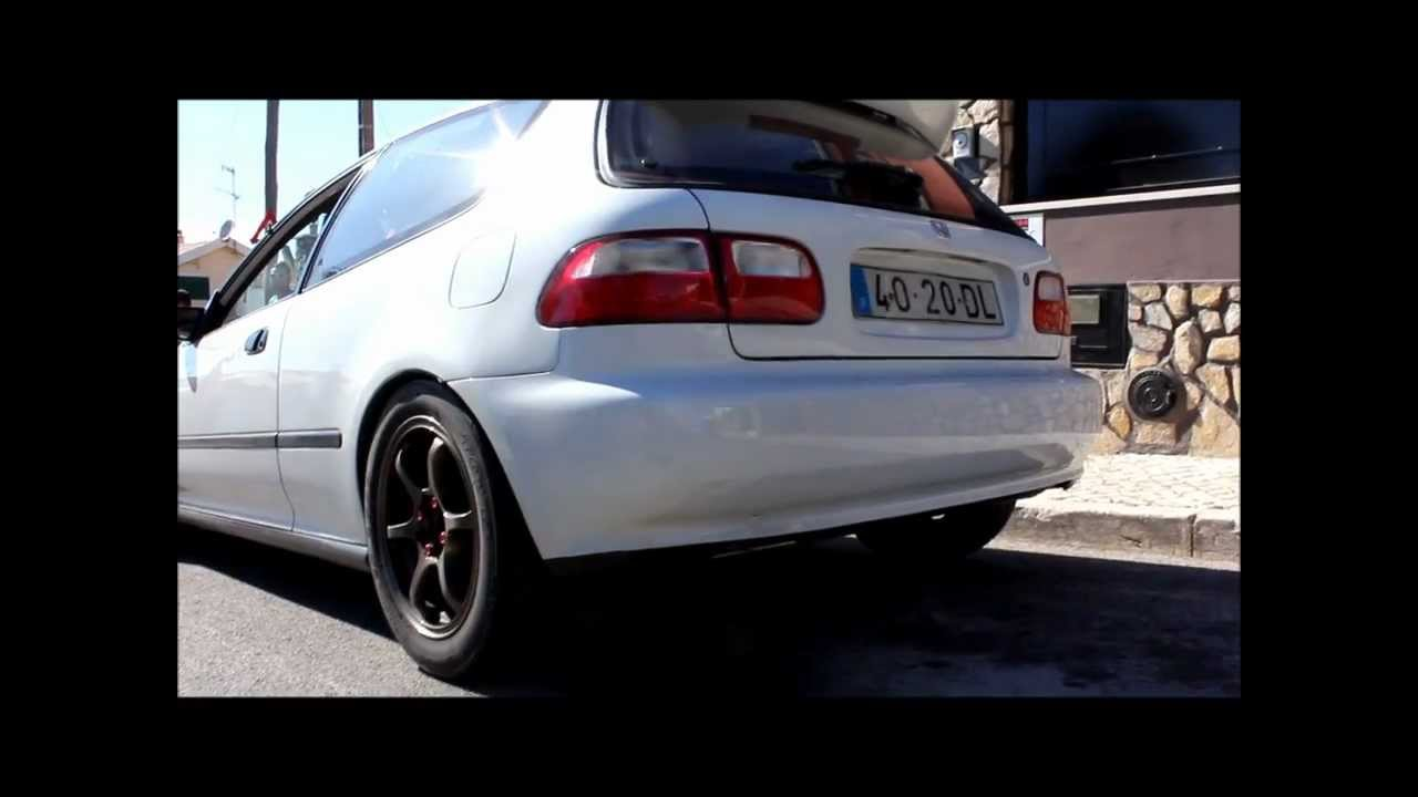 Civic EG K20 TURBO CedoisRacing - YouTube