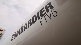 Bombardier Shows Off New Jet