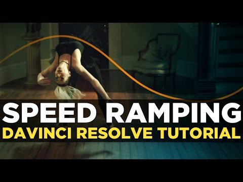 How to speed ramp in Davnici Resolve 12.5