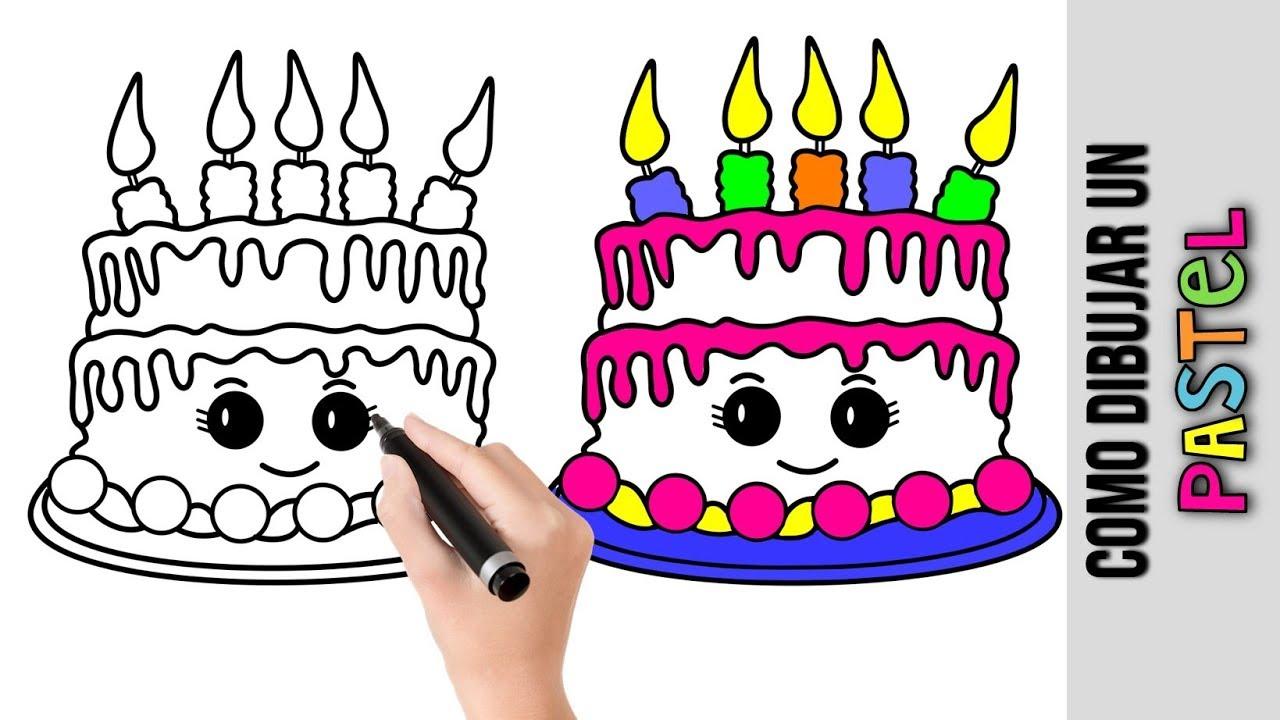 6768577 Pastel De Cumpleaa Os De Dibujos Animados