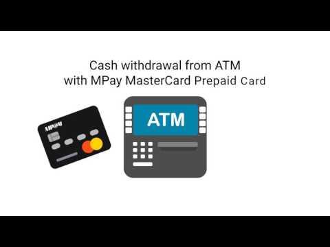 MPay Mastercard Prepaid Card