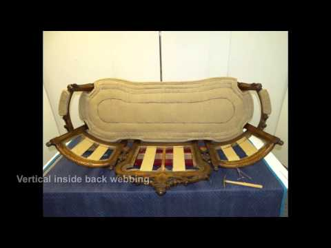Victorian Eclectic Sofa by MPF Conservation