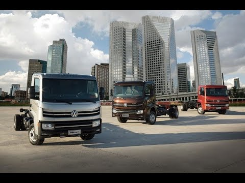 Novo Caminhão VW Delivery 2018 - YouTube