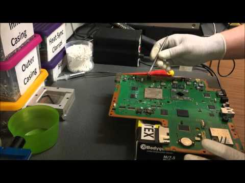 How to remove ps3 ihs plates