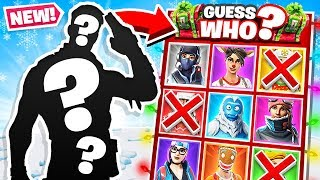 GUESS WHO Christmas *NEW* Game Mode in Fortnite Battle Royale