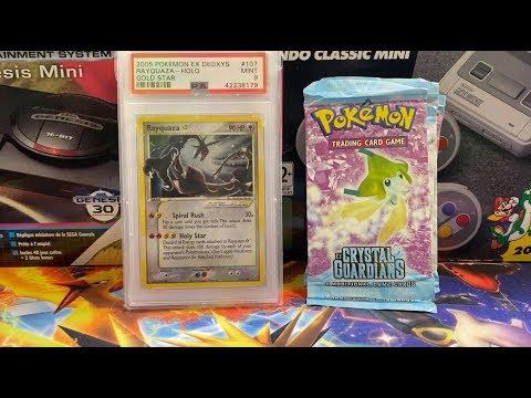 Gold Star Celebi Or Alakazam?! Opening EX Crystal Guardians Pokemon Packs!