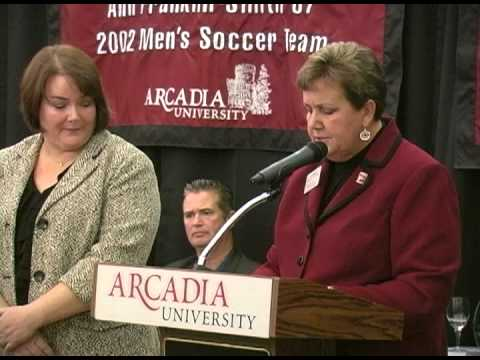 Arcadia University Athletic Hall of Fame Inductee: Ann Franklin-Smith