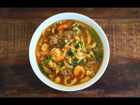 Lor Mee/Braised Noodles (Hokkien-Styled)