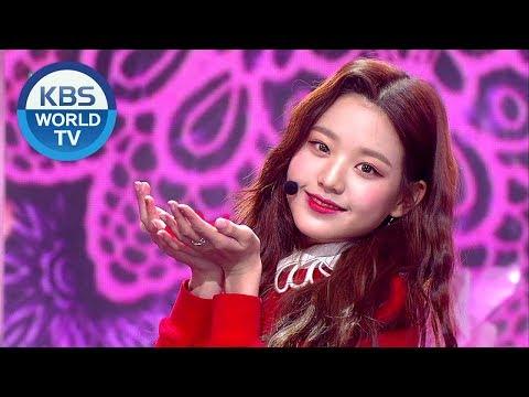 IZ*ONE - La Vie en Rose | 아이즈원 - 라비앙로즈 [Music Bank Hot Debut / 2018.11.02]