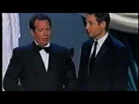 50th Annual Emmy Awards  Garry Shandling and David Duchovny 1998