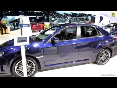 2014 New Subaru Impreza Wrx Sti Exterior And Interior Youtube